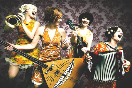 Another Female Based Band Will Be Gracing Seattle Tonight, This Time In The  Form Of An All Female Norwegian Quartet Known As Katzenjammer.