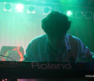 Neon Indian at Neumos by Bebe Besch