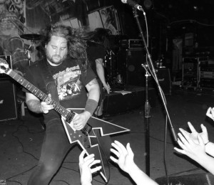 Municipal Waste at Hawthorne Theater by Aaron Sharpsteen
