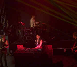 DJ Aoki and Duran Duran at Terminal 5, photograph by Cody Oyama