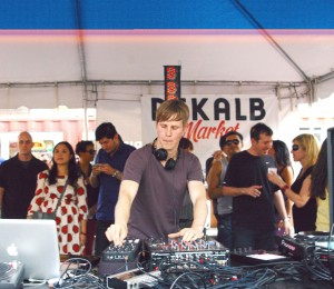 Joris Voorn at Dekalb Market, photograph by Ryan Wijayaratne