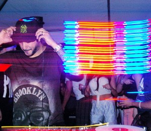 Loco Dice at Dekalb Market, photograph by Ryan Wijayaratne