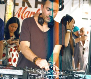 Nic Fanciulli at Dekalb Market, photograph by Ryan Wijayaratne