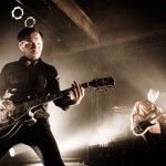 Guitarist Kristofer Steen and Bassist Magnus Flagge of Refused