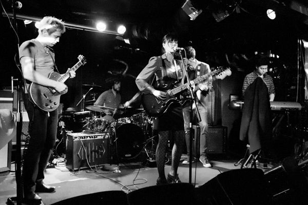 Two White Opals live at Chop Suey