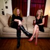 Kristin &amp; Carrie Watt of Seattle Living Room Shows | Photo by Mocha Charlie
