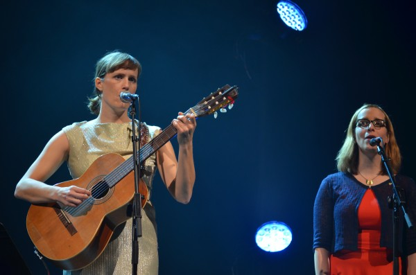 Laura Gibson and Laura Veirs.