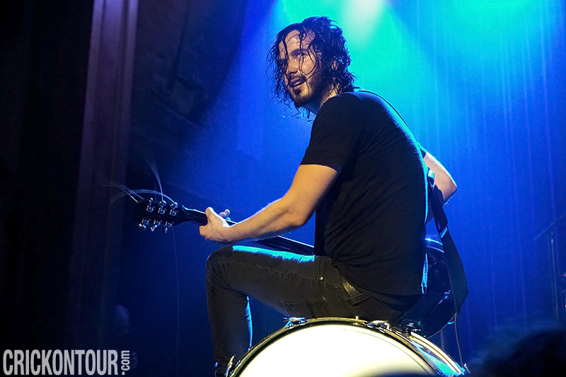 Reignwolf performs before a sold-out crowd at the Neptune Theatre.