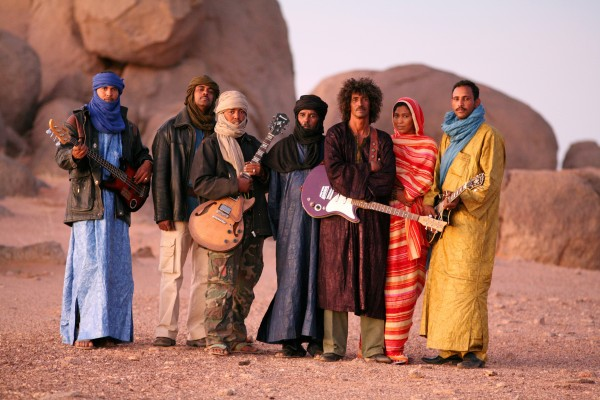 Tinariwen. Photo courtesy of artist.