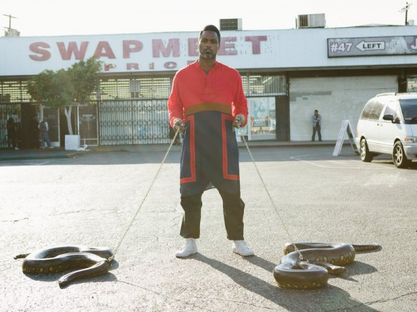Shabazz Palaces. Photo courtesy of the artist.